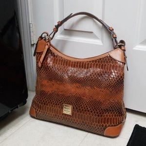 Like New DOONEY & BOURKE Croc Shoulder Bag